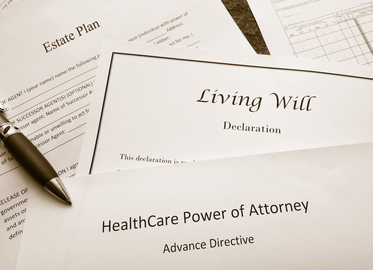 living will estate documents